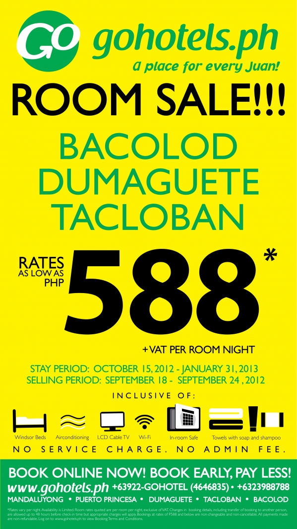 GO HOTELS' THE GREAT VISAYAN SALE