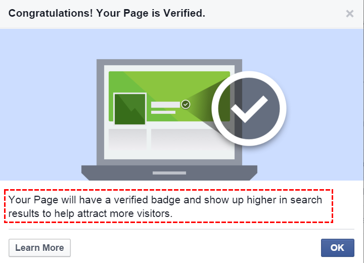 Verified Badge: Facebook rolls out page verification, 2015