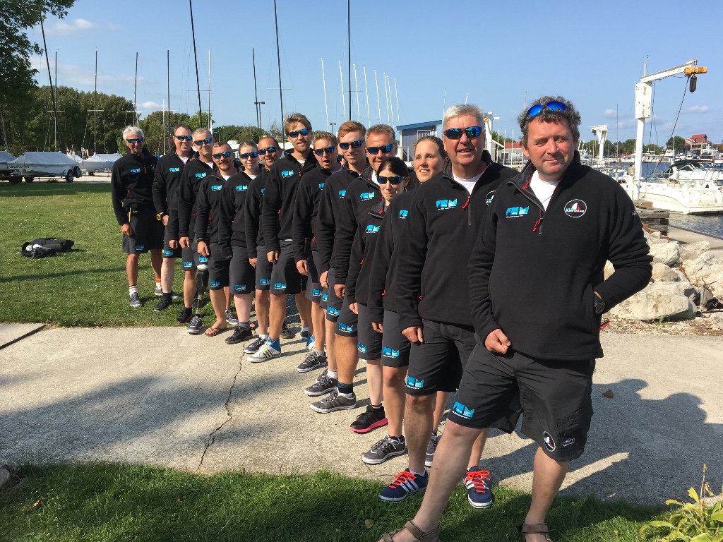 The British Blind Sailing Team