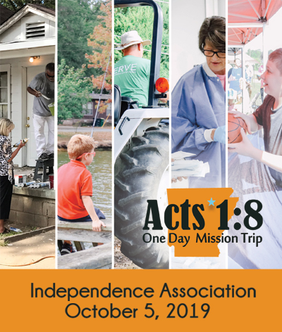 ACTS 1:8 One Day Mission Trip