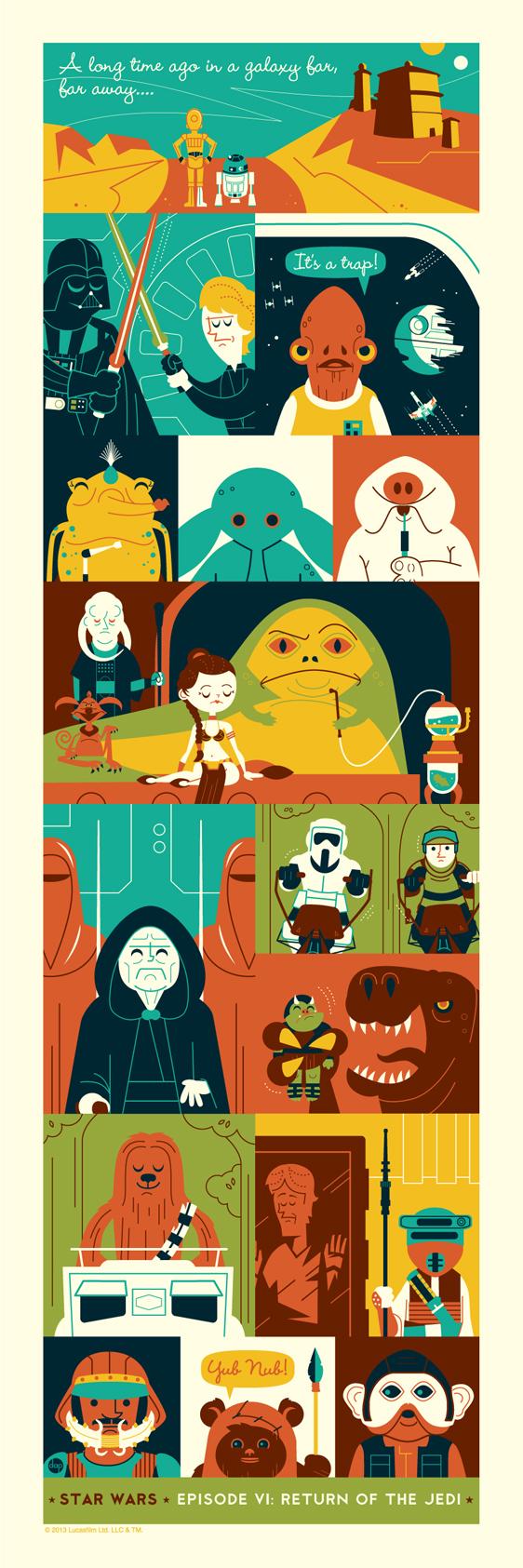 Return of the Jedi by Dave Perillo