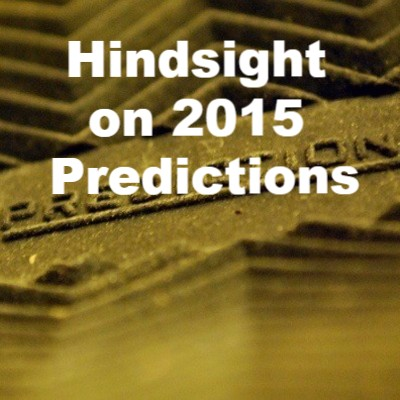 Hindsight on 2015 Predictions