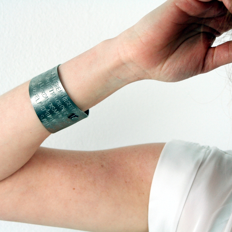 Armband Amor, titanium