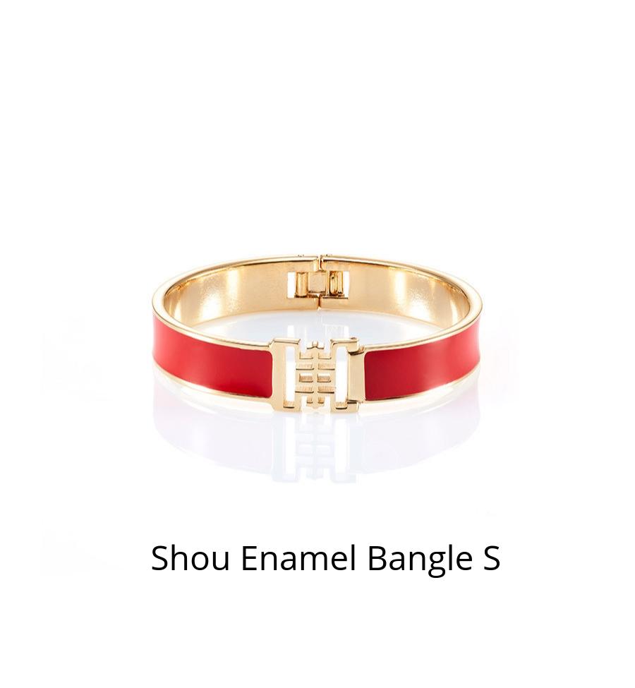 Shou Enamel Bangle S