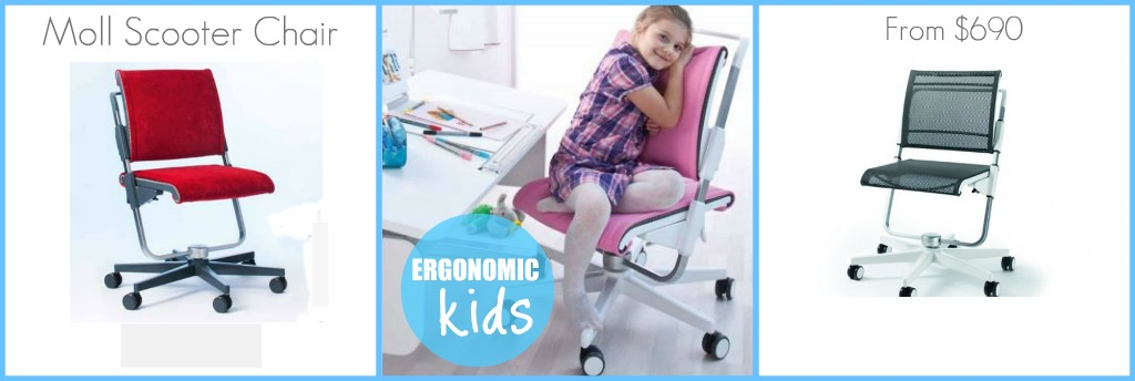 Ergonomic Kids - Moll Scooter Chair from $690