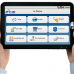 image of eldy tablet for android
