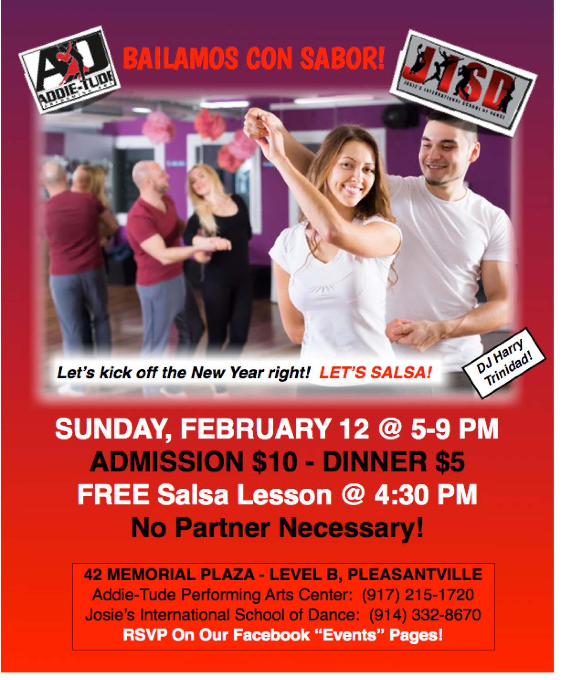 Josie's Salsa Feb. Event