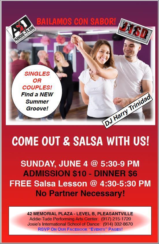 Salsa June 4th Event