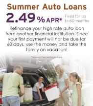 Spring Adventure RV Loans
