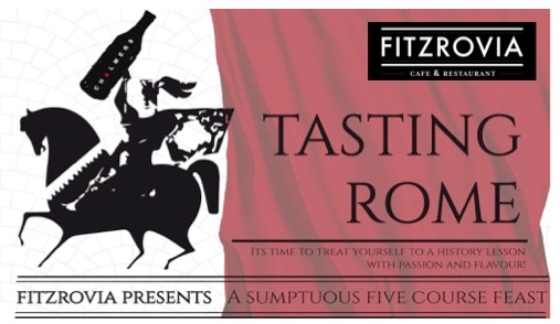 tasting rome a sumptuous five course feast