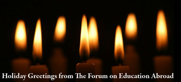 Holiday Greetings from the Forum on Education Abroad