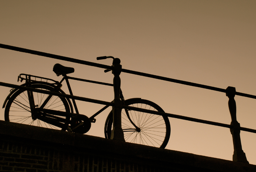 Bicycle sillouette