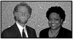 Bill Cohen and Paisha Thomas