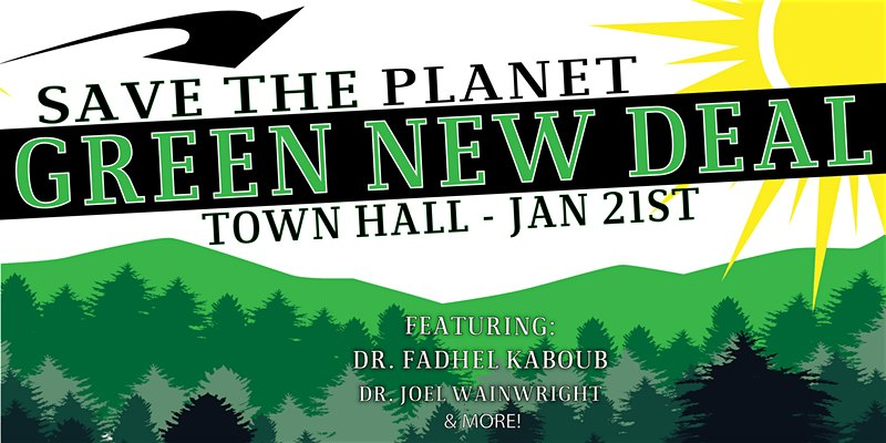 Green New Deal Town Hall