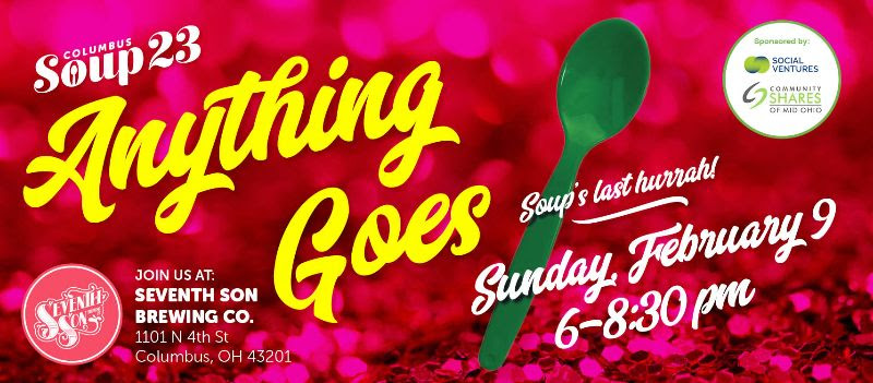 SOUP 23 Anything Goes poster