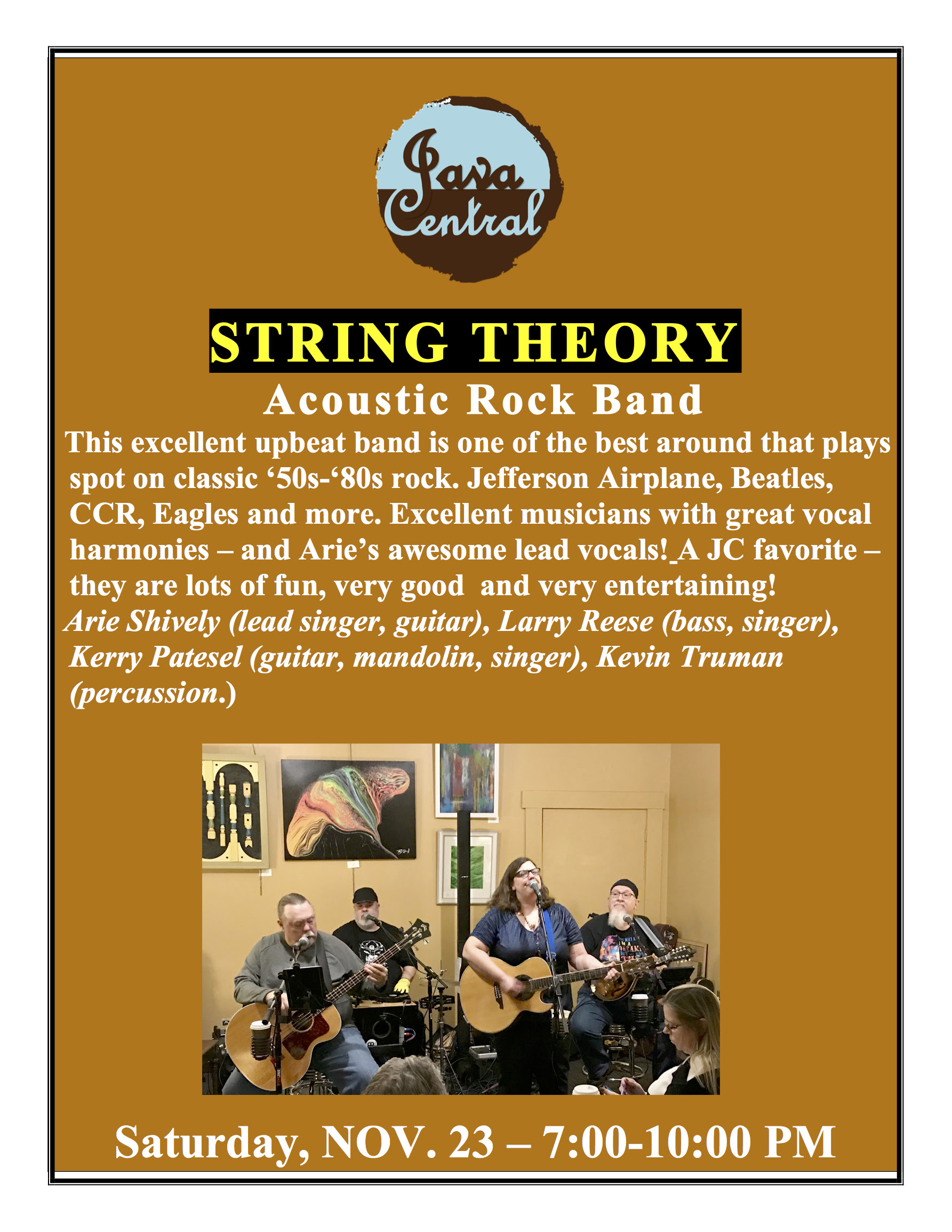 String Theory Acoustic Rock band