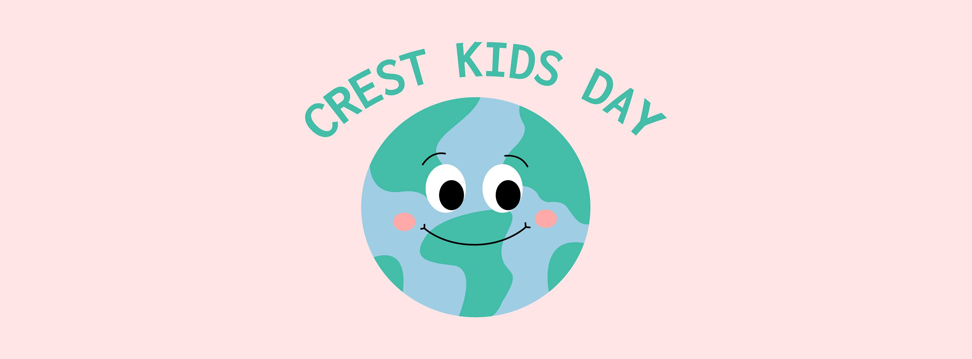 Crest Kids Day logo