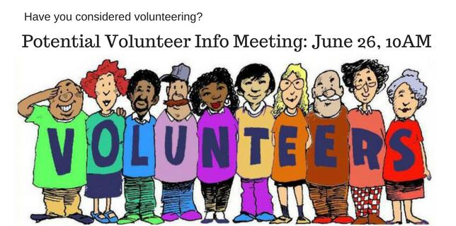 volunteer info meeting