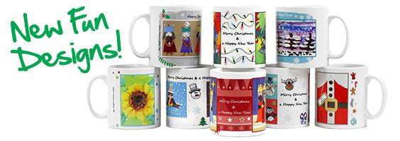 Christmas mug designs samples