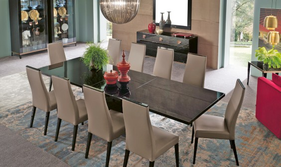 Dining room with Italian furniture