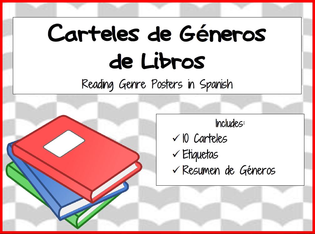 Spanish-language genre posters image