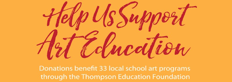 Your donations to Legacy for Lu infuses art classrooms with additional resources. Legacy for Lu was established in 2010 to provide art supplies and opportunities to students in Thompson School District. The fund was established by Denny Haskew in honor of his mother Lu, a wonderful teacher, friend and talented artist.