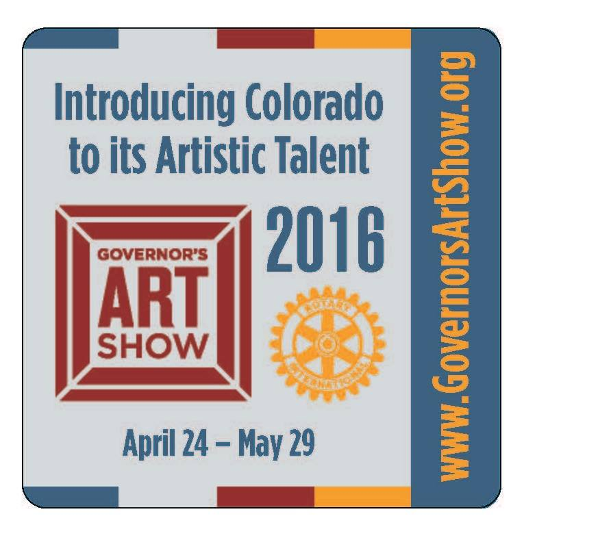 Governor's Art Show Loveland, CO April 24-May 29