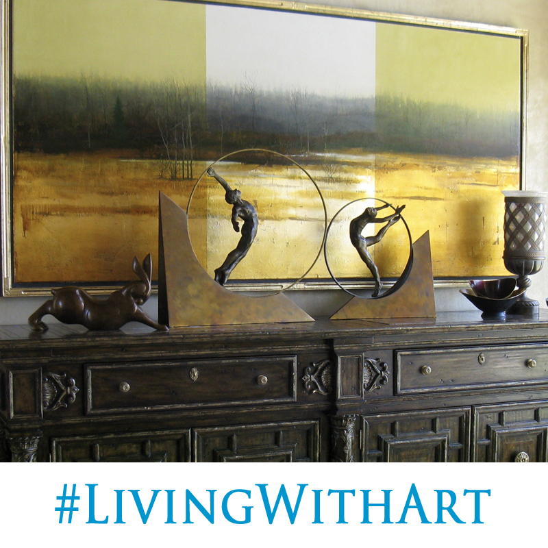 Look for tips from John in a feature articlein the new publication Northern Colorado HOME this November, all about #LivingWithArt. We'll alsoinstagramsome of our favorite interior placements from our collector's homes over the next few months.