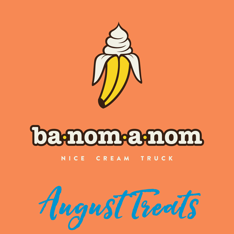"Columbine Gallery is really excited to have Ba-Nom-a-Nom join us during our August Sculpture Show. They'll be at the southeast entrance of our parking lot Saturday (August 11th) only, So, stop by to enjoy a refreshing, healthy treat while you peruse all of the Loveland Art Shows. #FeedYourCreativeSpirit   This is Nature's Ice Cream!   The Ba-Nom-a-Nom Treat Truck serves ""Soft Serve Frozen Fruit"".  Our treats are 100% FRUIT, but fluffed and whipped like soft serve ice cream.  ​ Since the only ingredient is fruit, our treats are DAIRY FREE, GLUTEN FREE, VEGAN, FAT FREE, have NO ADDED SUGAR, are HEALTHY and DELICIOUS! You won't believe your taste buds!"