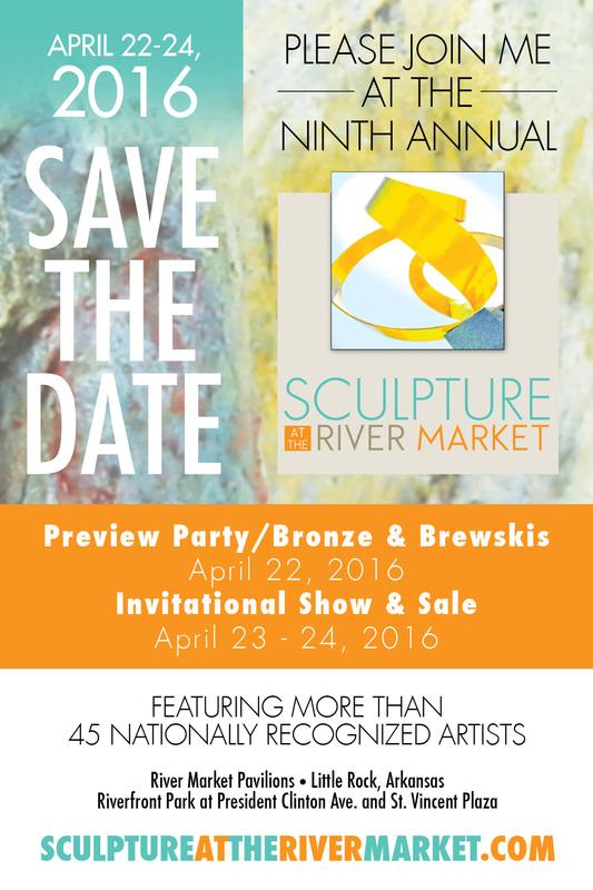 Little Rock's Sculpture at the River Market April 22-24