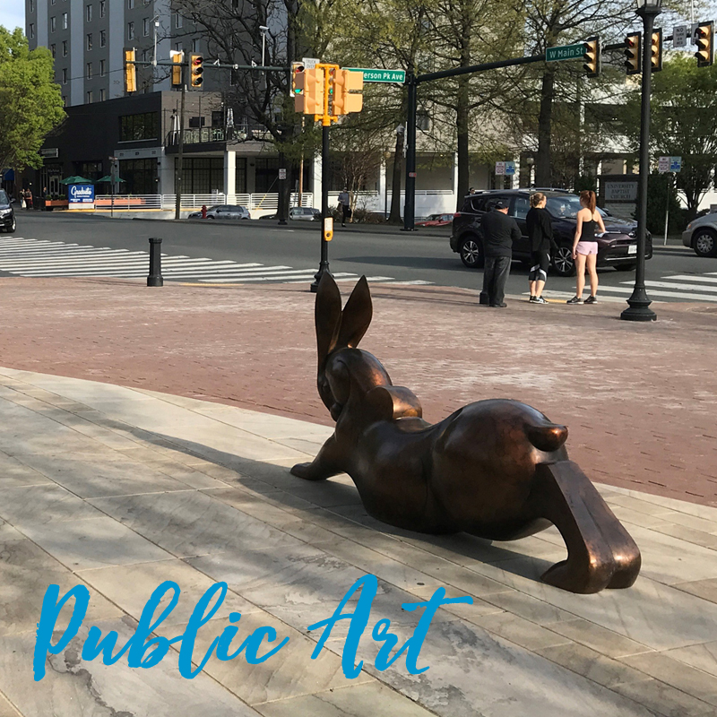 New Public Art placements by the National Sculptors' Guild
