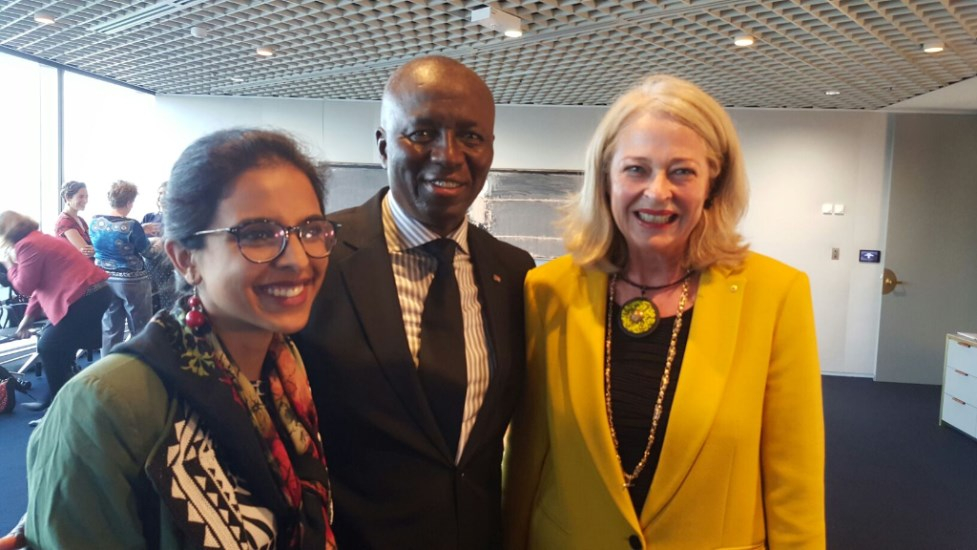 Honourable Justice Dikgang Mosenke and Justice Margaret McMurdo AC of the Queensland Court of Appeal