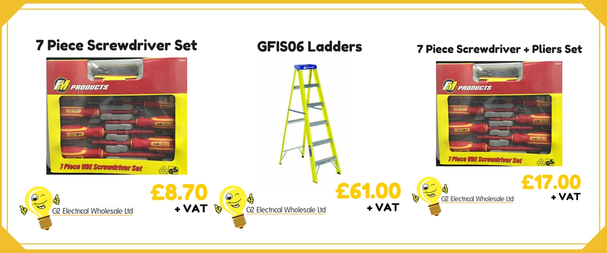 G2 Electrical Wholesale Cannock November Offers