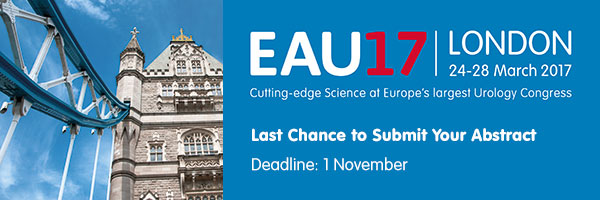 Submit your abstract for EAU17 in London