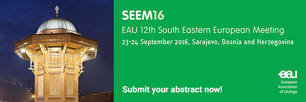 Submit your abstract now for the EAU 12th South Eastern European Meeting