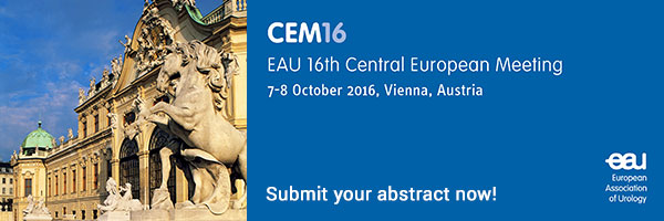 Submit your abstract now for the EAU 16th Central European Meeting