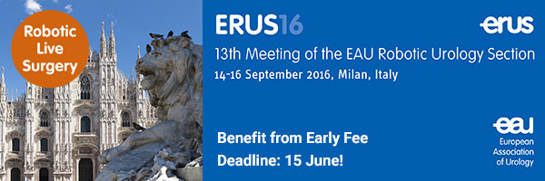 ERUS16: Benefit from Early Fee. Register before 15 June.