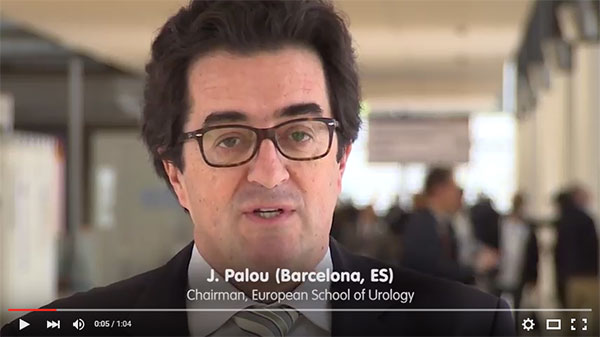 Dr. Joan Palou introduces UROwebinar, the new online educational tool from the European Association of Urology.