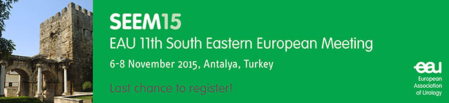 Last chance to register for the EAU 11th South Eastern European Meeting