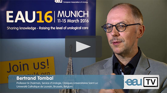 Prof. Tombal explains his personal highlights for EAU16