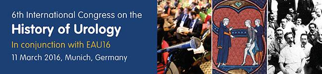 6th International Congress on the History of Urology