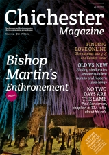 Issue 104 December/January of the Chichester Magazine