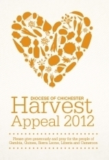 Diocese of Chichester Harvest Appeal 2012, logo by Matt Collison