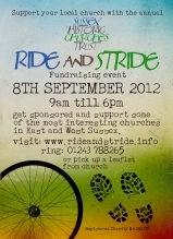 Ride and Stride poster