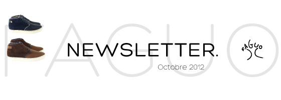 Newsletter FAGUO - octobre 2012