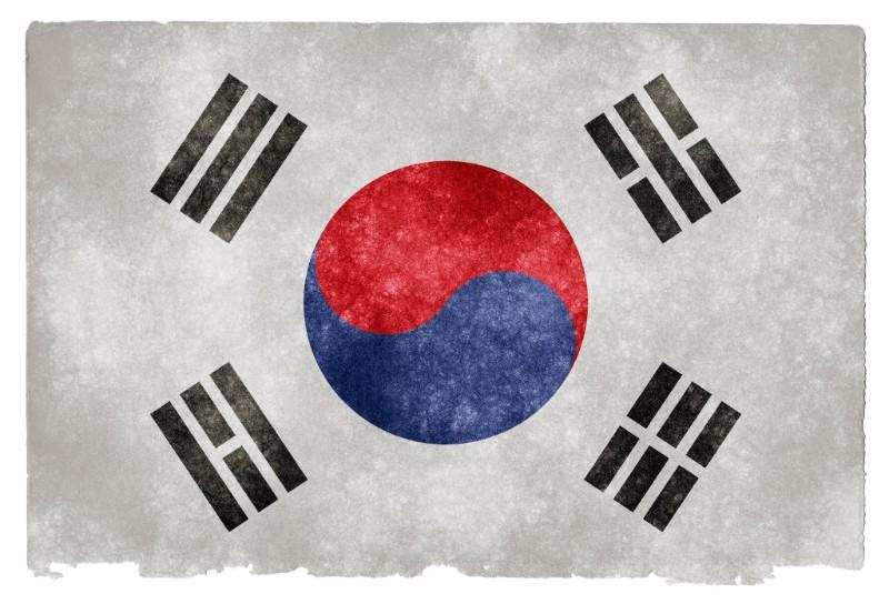 South Korea grunge flag by Nicholas Raymond: www.freestock.ca