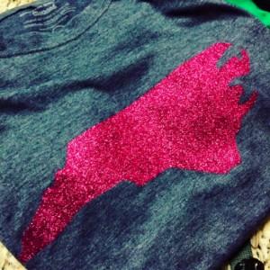NC Glitter shirt