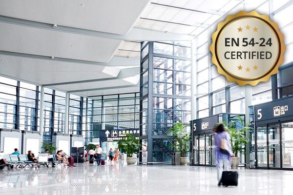 EN 54-24 Certified