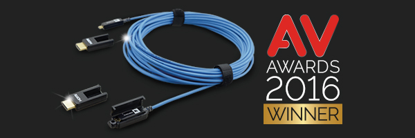 Kramer CLS-AOCH/XL Active Fiber Optic HDMI Cable w/ Detachable Ends Wins AV Accessory of the Year