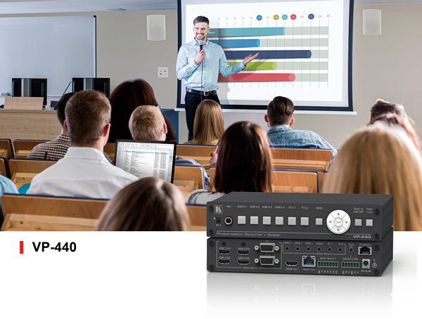 VP-440 ProScale Presentation Digital Scaler/Switcher for Classrooms